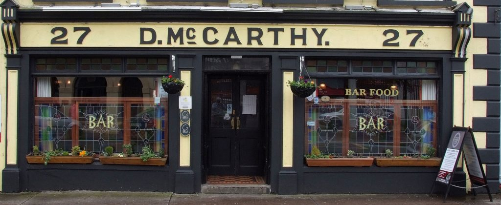 Mccarthy 39 s bar the old imperial hotel youghal for Bar food youghal
