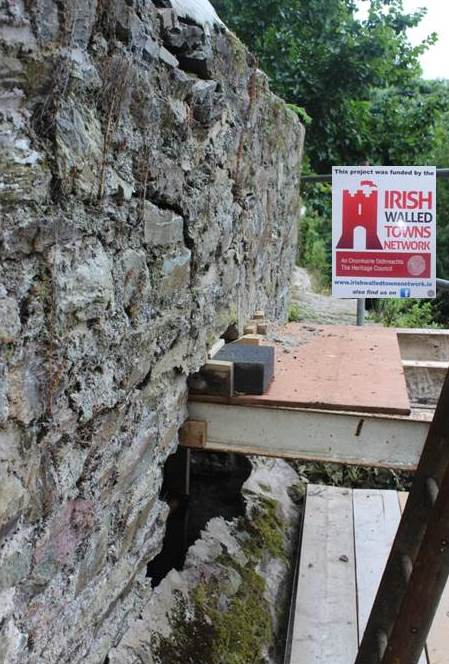 Restoration Works At Youghal Town Walls Youghal