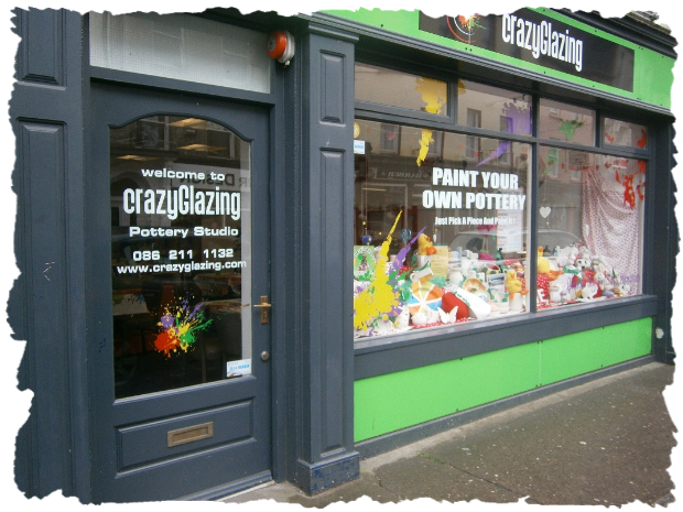 Crazy glazing paint your own pottery visitor attraction for Bar food youghal