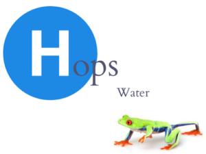 Hops Water Logo